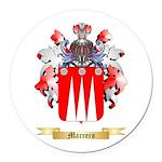 Marrero Round Car Magnet