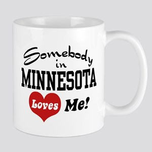Somebody in Minnesota Loves Me Mug