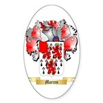 Marren Sticker (Oval 50 pk)