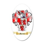 Marren 20x12 Oval Wall Decal