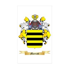 Marratt Sticker (Rectangle 50 pk)