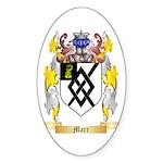 Marr Sticker (Oval 50 pk)