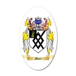 Marr 35x21 Oval Wall Decal