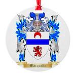 Marquette Round Ornament