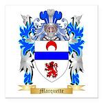 Marquette Square Car Magnet 3