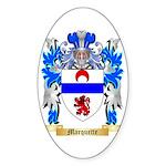 Marquette Sticker (Oval 10 pk)