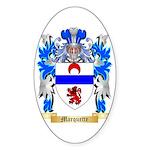 Marquette Sticker (Oval 50 pk)