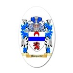 Marquette 20x12 Oval Wall Decal