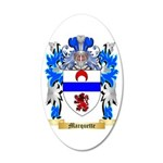 Marquette 35x21 Oval Wall Decal