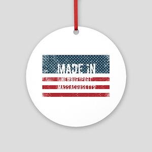 Made in Newburyport, Massachusetts Round Ornament