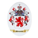 Marquese Oval Ornament