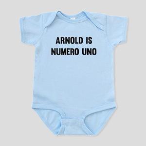 Arnold Is Numero Uno Body Suit