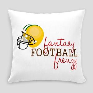 Fantasy Football Frenzy Everyday Pillow
