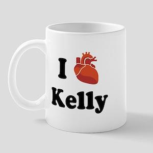 I (Heart) Kelly Mug