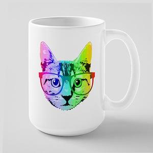 Funny Rainbow Cat Mugs