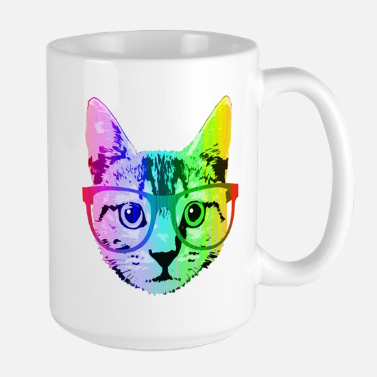 Funny Rainbow Cat Mugs