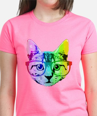 Funny Rainbow Cat T-Shirt