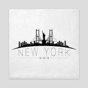 New York Queen Duvet