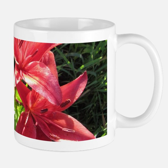 Deep Pink Hybrid Asiatic Lily Mugs