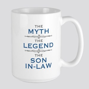 Myth Legend Son-In-Law Mugs