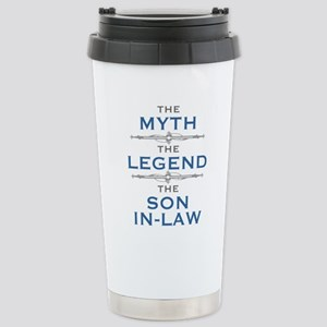 Myth Legend Son-In-Law Stainless Steel Travel Mug