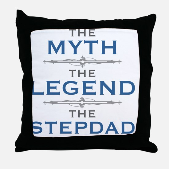 Unique Step dad Throw Pillow