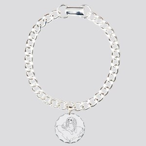 'Cavalier King Charles S Charm Bracelet, One Charm