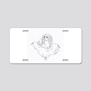 'Cavalier King Charles Span Aluminum License Plate