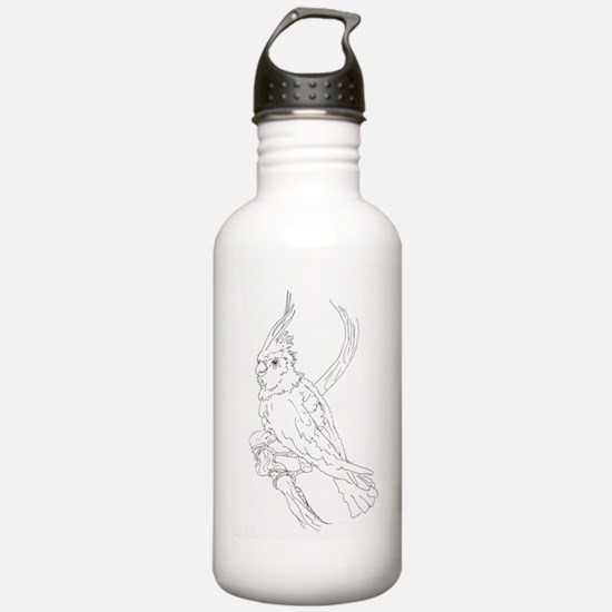 Cockatoo Parrot Cockat Water Bottle