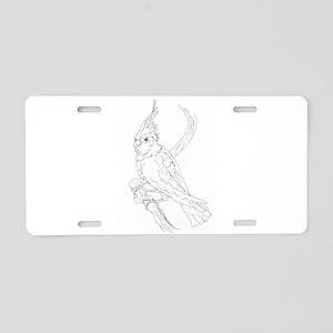 Cockatoo Parrot Cockatiel B Aluminum License Plate