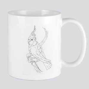 Cockatoo Parrot Cockatiel Bird Mug