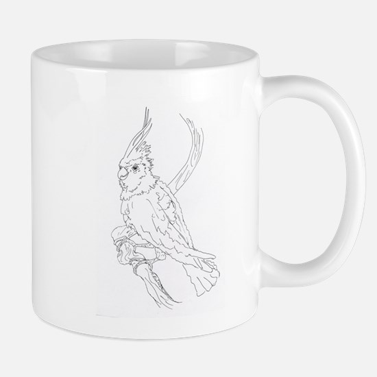 Cockatoo Parrot Cockatiel Bird Mug