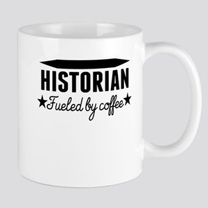 Historian Fueled By Coffee Mugs