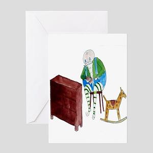 I LOVE Santa's Elves Greeting Cards