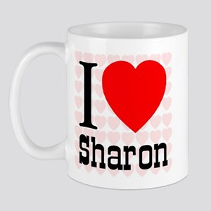 I Love Sharon Mug