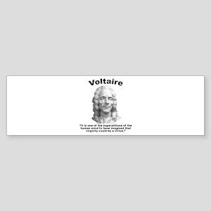 Voltaire Virginity Sticker (Bumper)