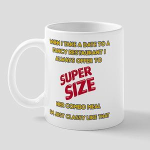 Super Size It! Mug
