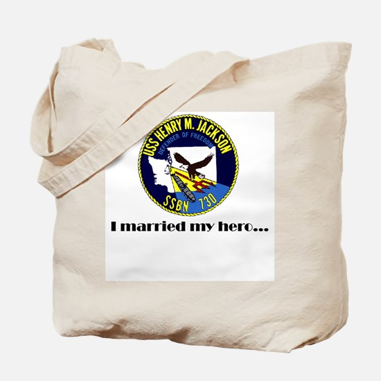 HMJ Married my Hero Tote Bag