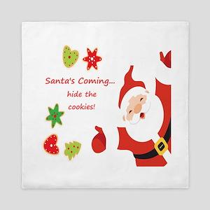 Hide Your Cookies Santa's Coming Fun Queen Duv