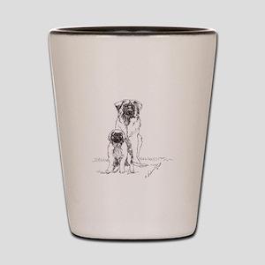 Leonberger Dog Family Shot Glass