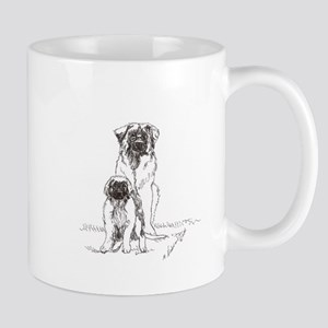 Leonberger Dog Family Mug