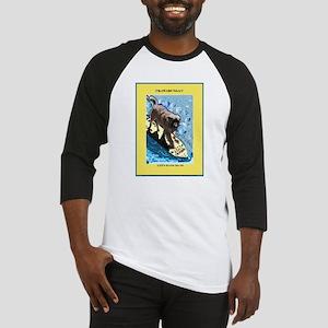 """Surfing Dog"" Baseball Jersey"
