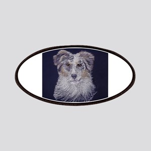 """Australian Shepherd: dog Patches"