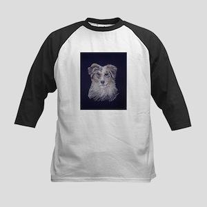 """Australian Shepherd: dog Kids Baseball Jersey"