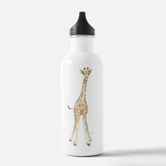 Cute Baby giraffe Water Bottle