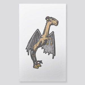 Jersey Devil Sticker (Rectangle)