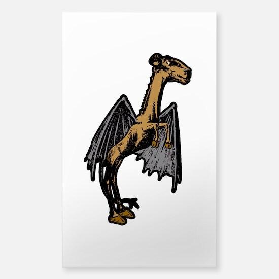 Jersey Devil Sticker (Rectangle)