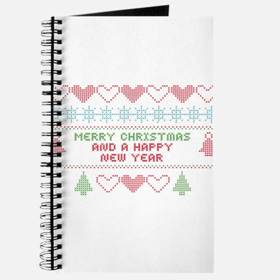 merry christmas happy new year Journal