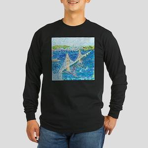 Golden Gate San Francisco Long Sleeve Dark T-Shirt