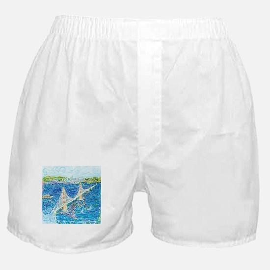 Golden Gate San Francisco Boxer Shorts